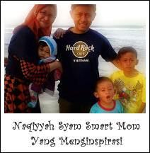 Naqiyyah Syam Smart Mom Yang Menginspirasi