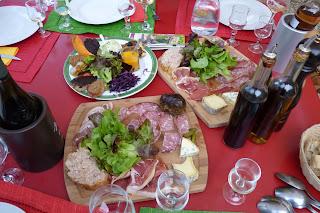 Restaurante Le bec figue, entrantes.