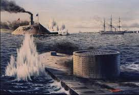 "Revolutionary Technologically Advanced Civil War Ironclad ""Warships"""