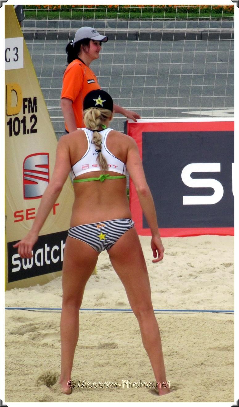Beach Volleyball Player Jennifer Kessy