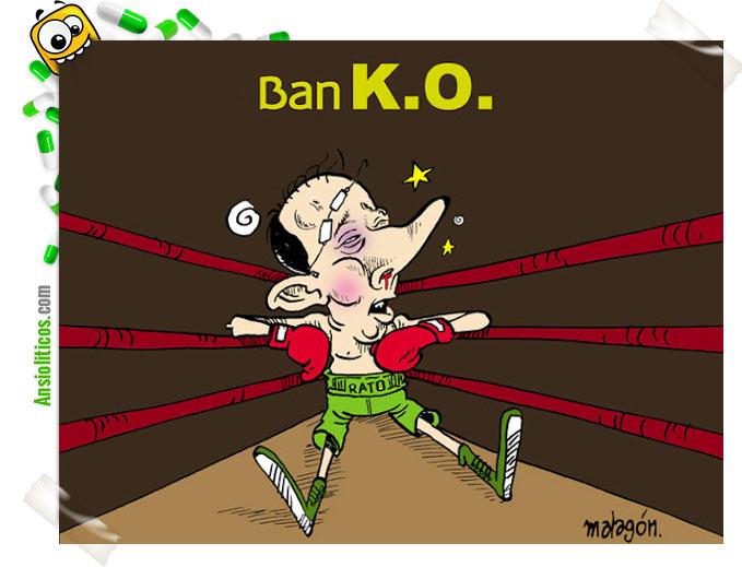 Chiste Bankia: Ban K.O.