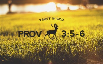Wallpaper: Trust in God
