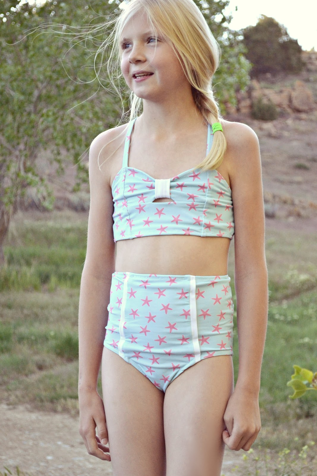 8c7889d97e I don't know about you, but I always struggle to find my kids ready to wear bathing  suits at the store. One pieces are either baggy but fit the length, ...