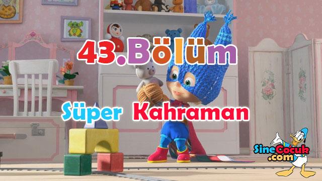 Maşa ile Koca Ayı: 43.Bölüm - Süper Kahraman Türkçe Dublaj İzle