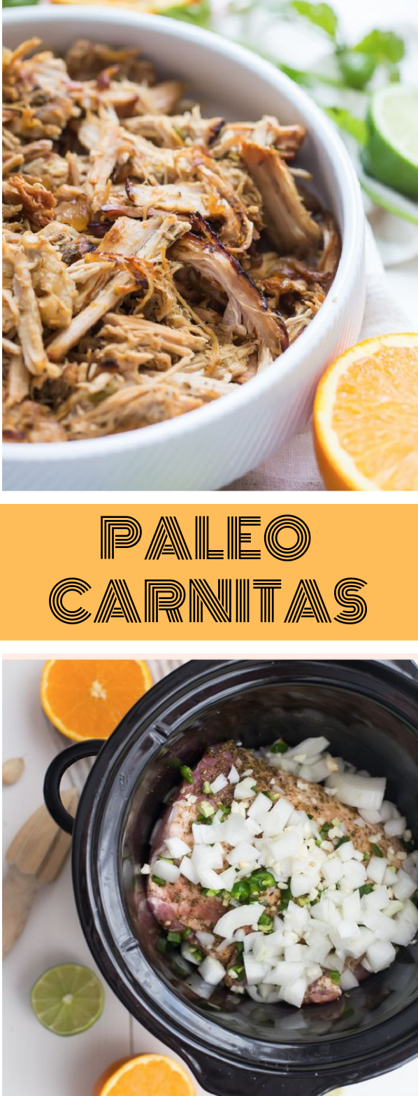 Crockpot Carnitas from Pork Tenderloin #diet #familyeat