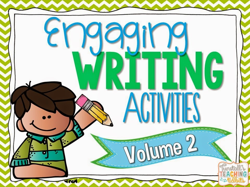 http://www.teacherspayteachers.com/Product/Engaging-Writing-Activities-Volume-2-1397440