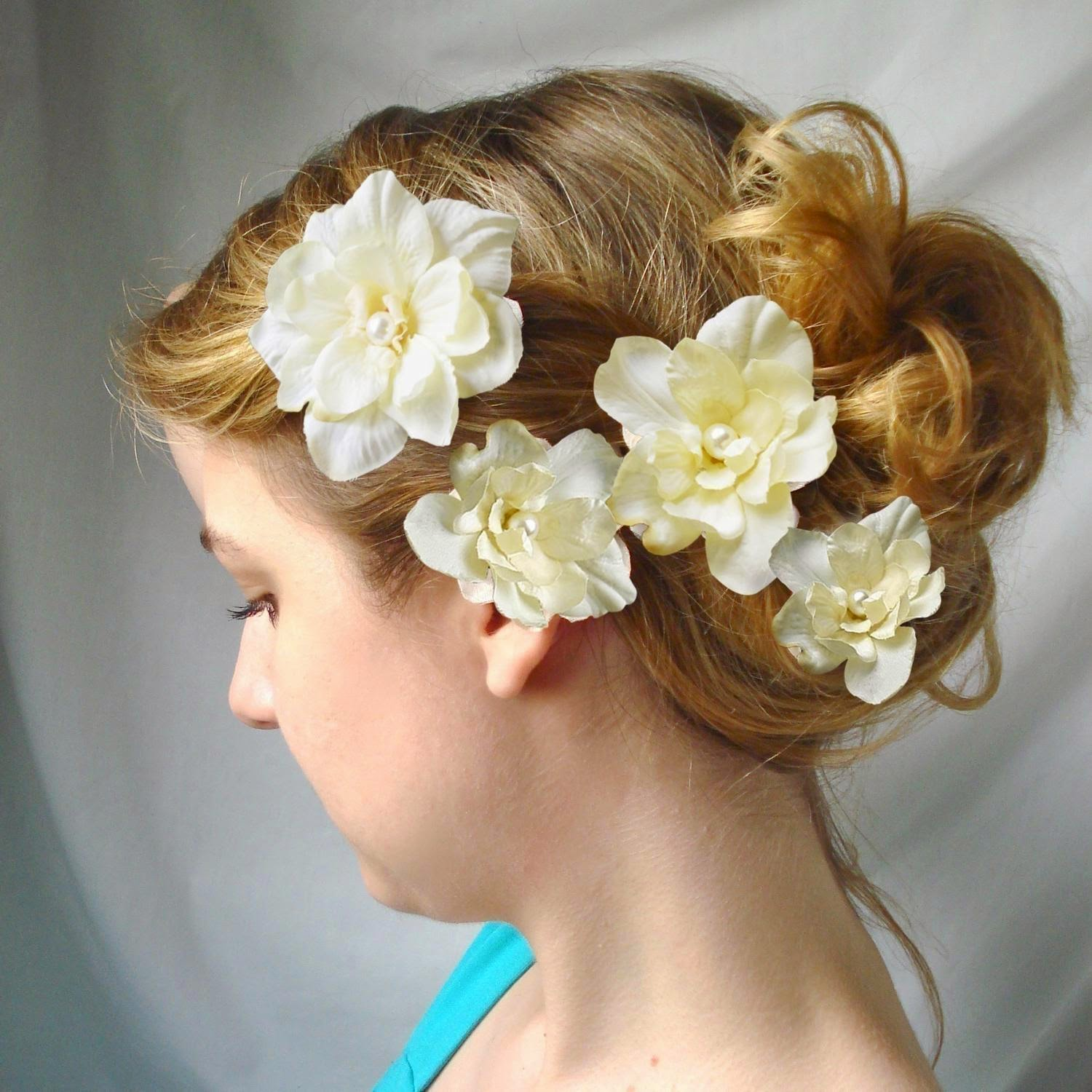 Weddig Hair: Bridal Hair Flowers
