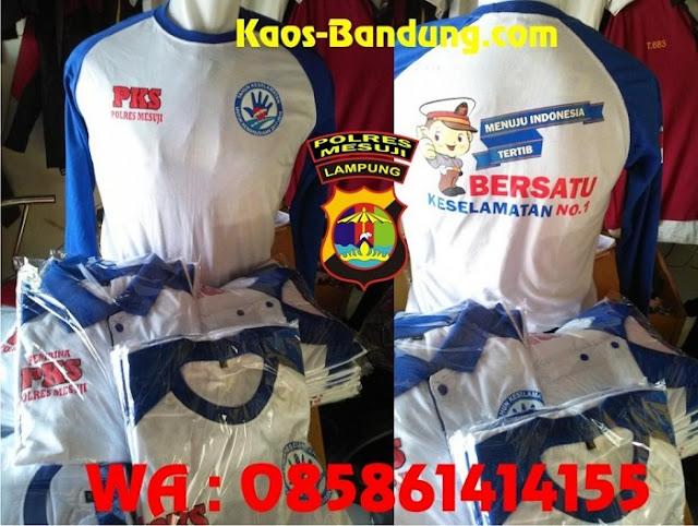 Sablon Bandung Berkualitas Buat Baju Polisi Lampung sumatera