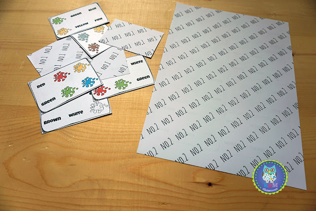 Color Sight Words Puzzle