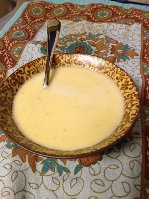 Autumn Comfort: Cream of Cauliflower Soup