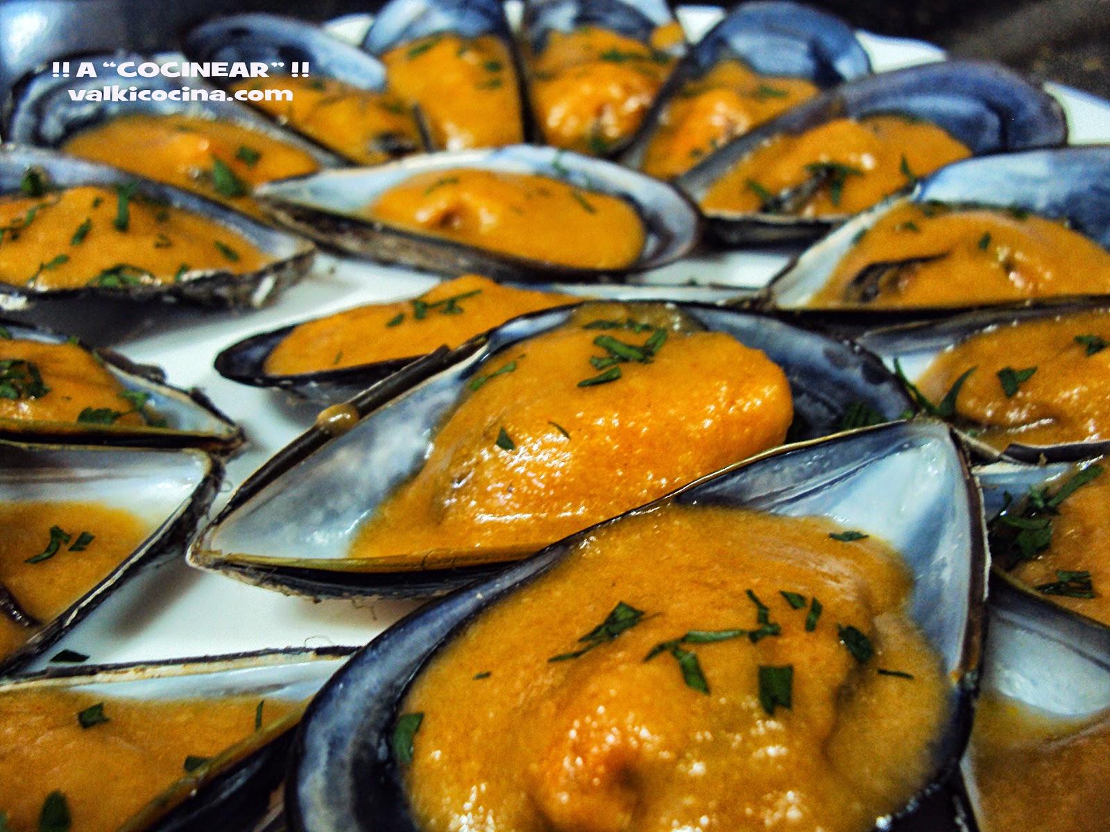 Mejillones a la marinera a cocinear recetas for Hacer salsa marinera