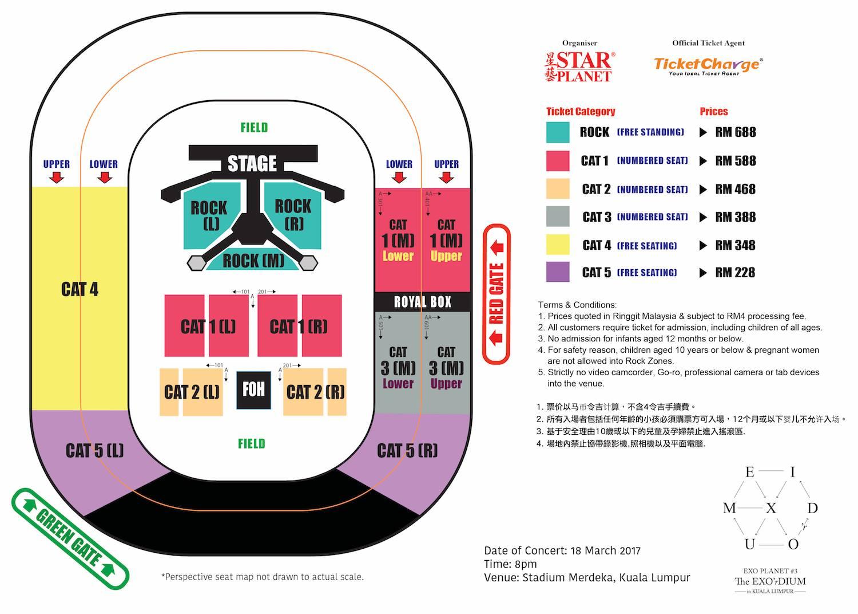 exo live in kl planet the exo rdium stadium merdeka