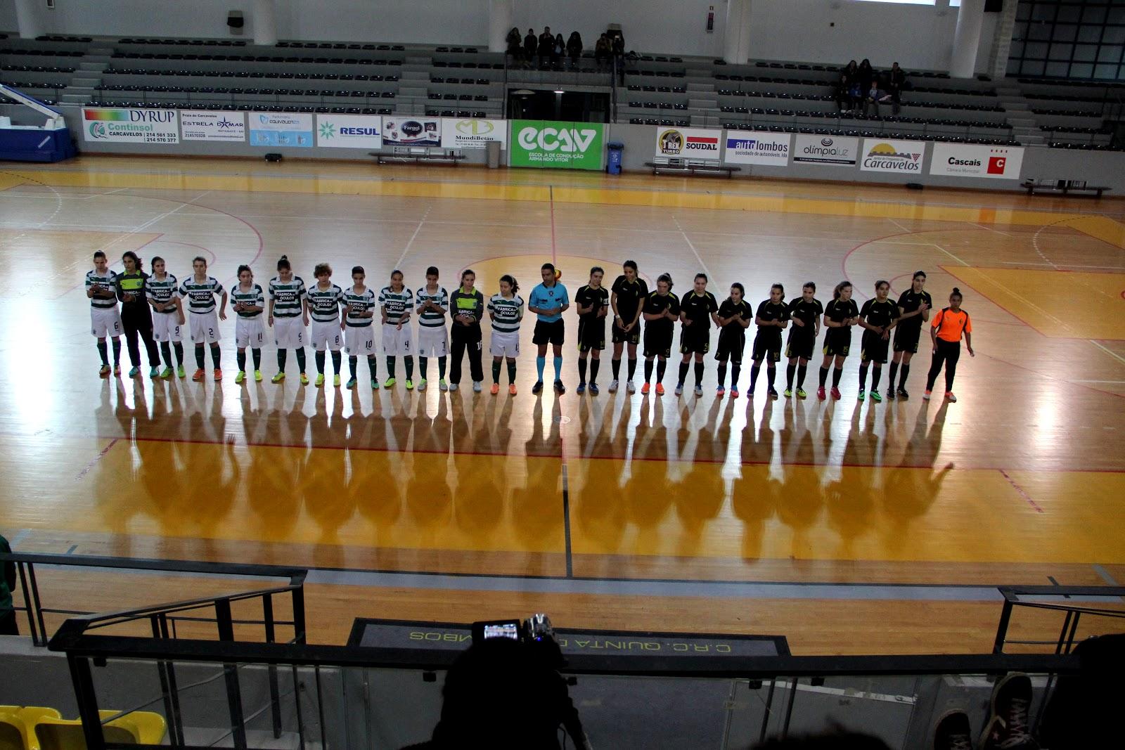 23963d73a9 AFL - CAMPEONATO DISTRITAL DE JUVENIS FEMININOS DE FUTSAL 2014-2015 - 8ª  JORNADA . CRC QUINTA DOS LOMBOS vs SPORTING CP