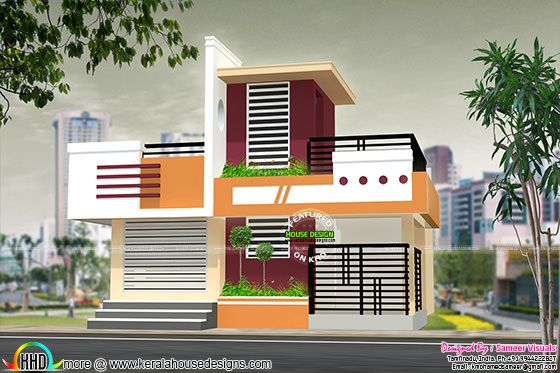 1150 sq-ft 2 bhk house plan