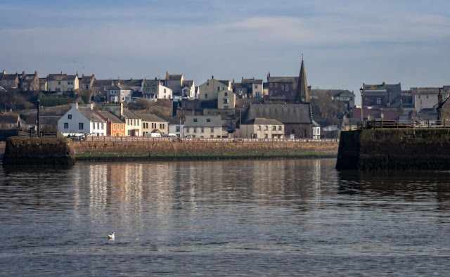 Photo of Maryport basking in the sunshine on Monday