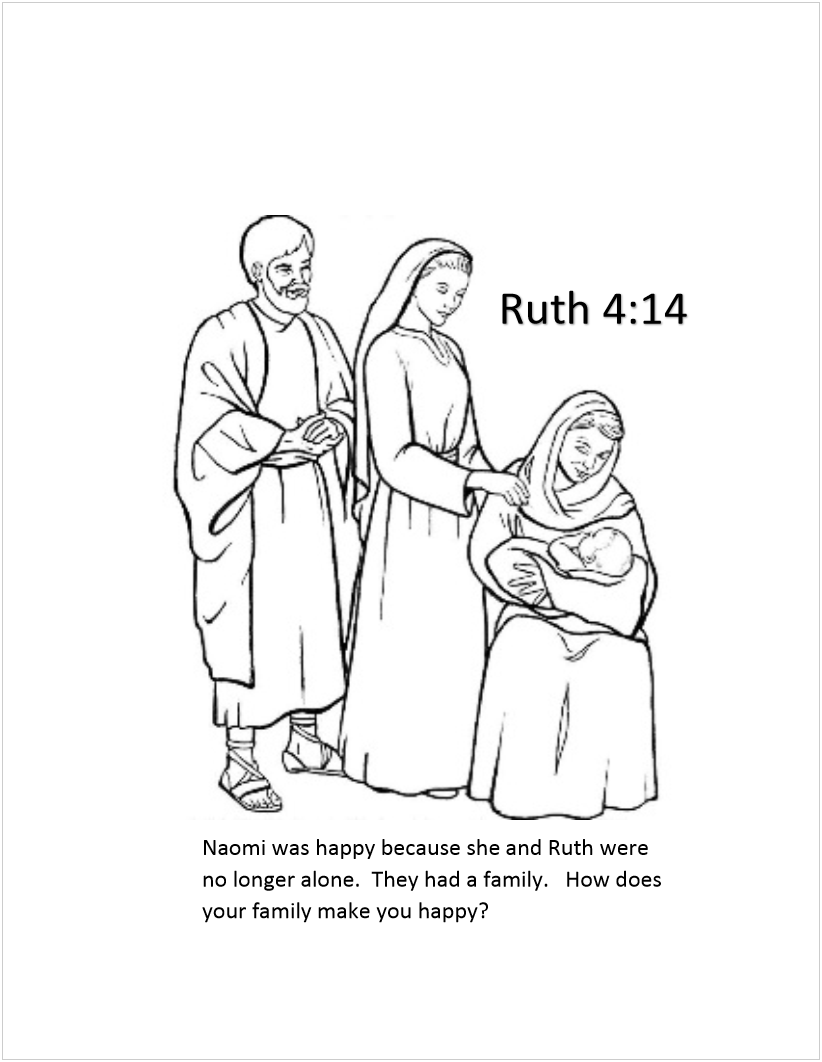 Preschool coloring pages ruth and naomi coloring pages for Ruth and boaz coloring pages