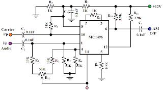 Hobby in Electronics: A.M Modulator Circuit Diagram