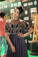 Sanjjanaa Galrani aka Archana Galrani in Maroon Gown beautiful Pics at IIFA Utsavam Awards 2017 60.JPG