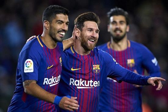 Các cầu thủ trong đội hình Barcelona