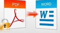 Convertire PDF in Word online e modificarli