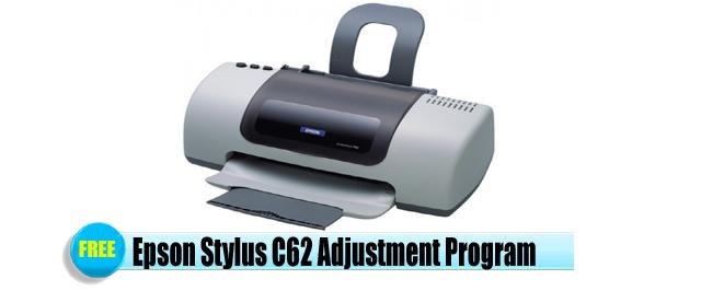 Epson Stylus C62 Adjustment Program