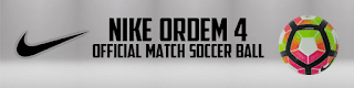 Ball Nike Ordem 4 Official Match Soccer Ball Pes 2013