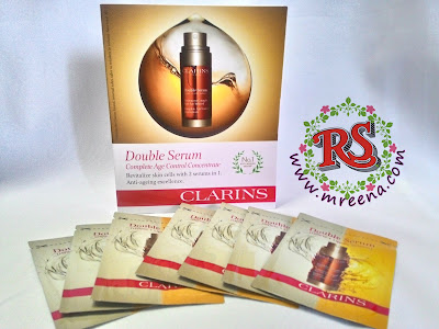 Samples Percuma Double Serum Clarins