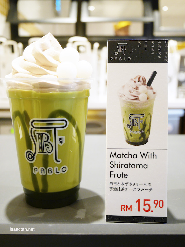 Matcha with Shiratama Frute - RM15.90