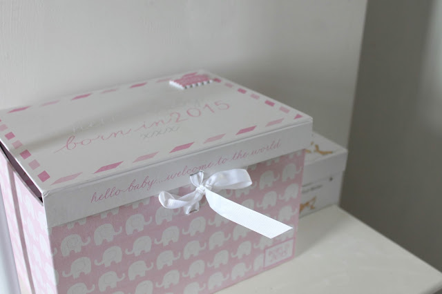 next baby keepsake box pink new baby 2015