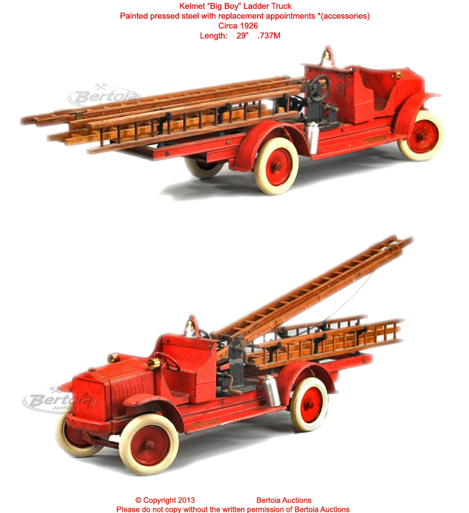 Old Antique Toys The Kelmet Corporation