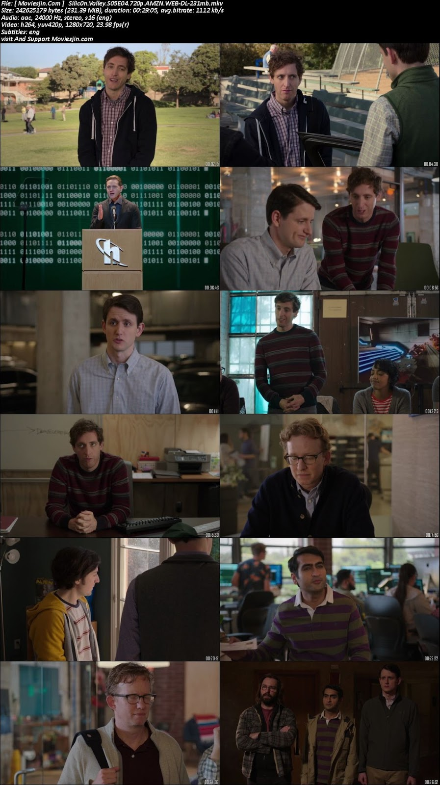 Watch online Silicon Valley S05E04 720p x264 WEBRip 240MB downloadhub