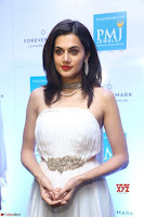 Tapsee Pannu looks Beautiful in White Sleeveless Gown Exclusive  Pics 07.jpg