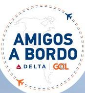 Cadastrar Promoção Delta e Gol 2016 Amigos a Bordo