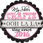 My Sheri Crafts Blog Award