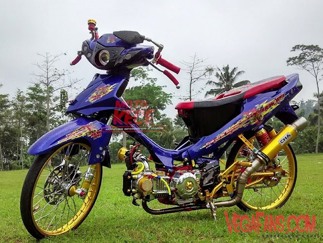 Modifikasi Vega R New Ungu Modif Thailook