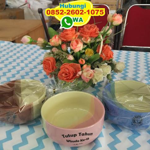 souvenir pernikahan mangkok bola dobel 54367