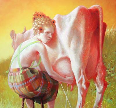 Milking (2010), Robin F. Williams