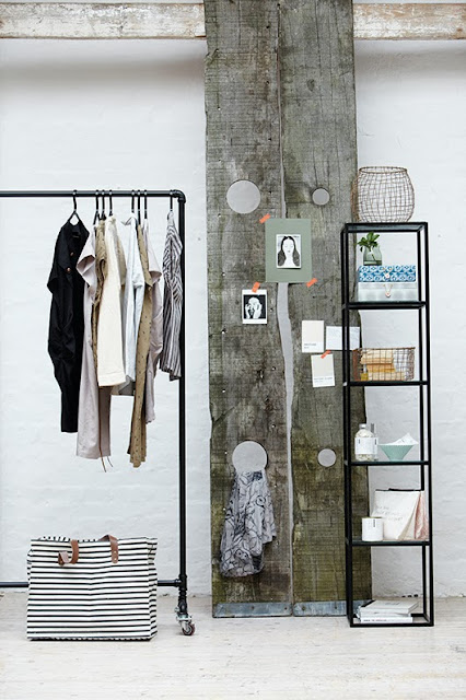 Kleding Ophangsysteem Muur Atelier Rue Verte , Le Blog: Inspiration By House Doctor