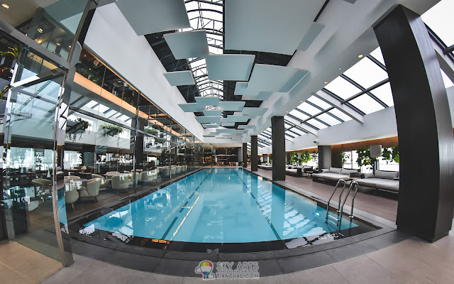 The swimming pool @ Maxims Genting Executive 18th Floor (Crockfords)