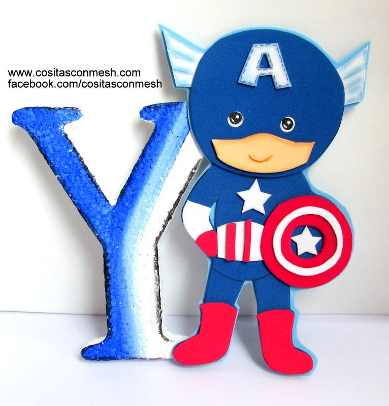 Aprende Cómo Hacer Centros De Mesa Del Capitán América