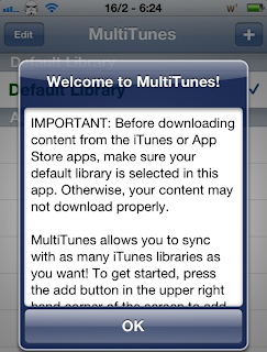 MultiTunes Tweak To Sync iTunes Libraries As Many As You Want On iPhone