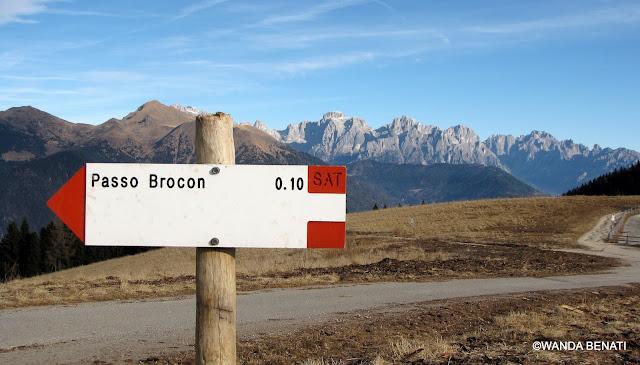 Passo Brocon, Trentino