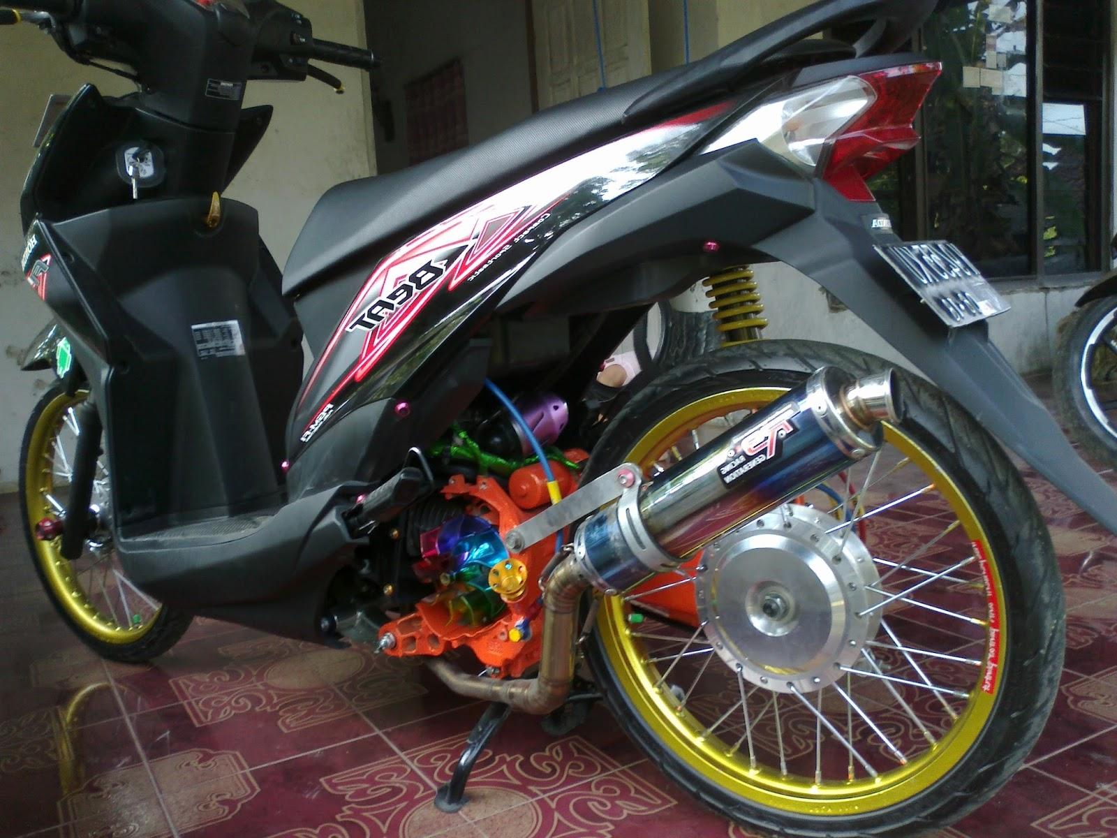 Modifikasi Motor Beat Yg Keren Mobiliobaru