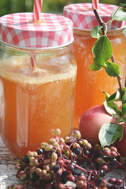 Gesunder Apfelsaft selbermachen