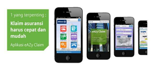 Cara Mudah Klaim Asuransi Kesehatan Allianz Secara Online Melalu Aplikasi Allianz eAZy Claim