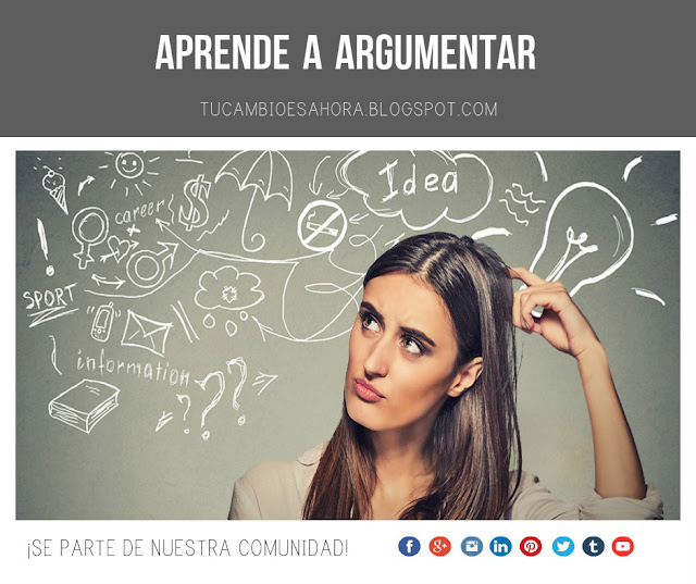Aprende a argumentar