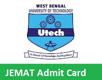 JEMAT Admit Card