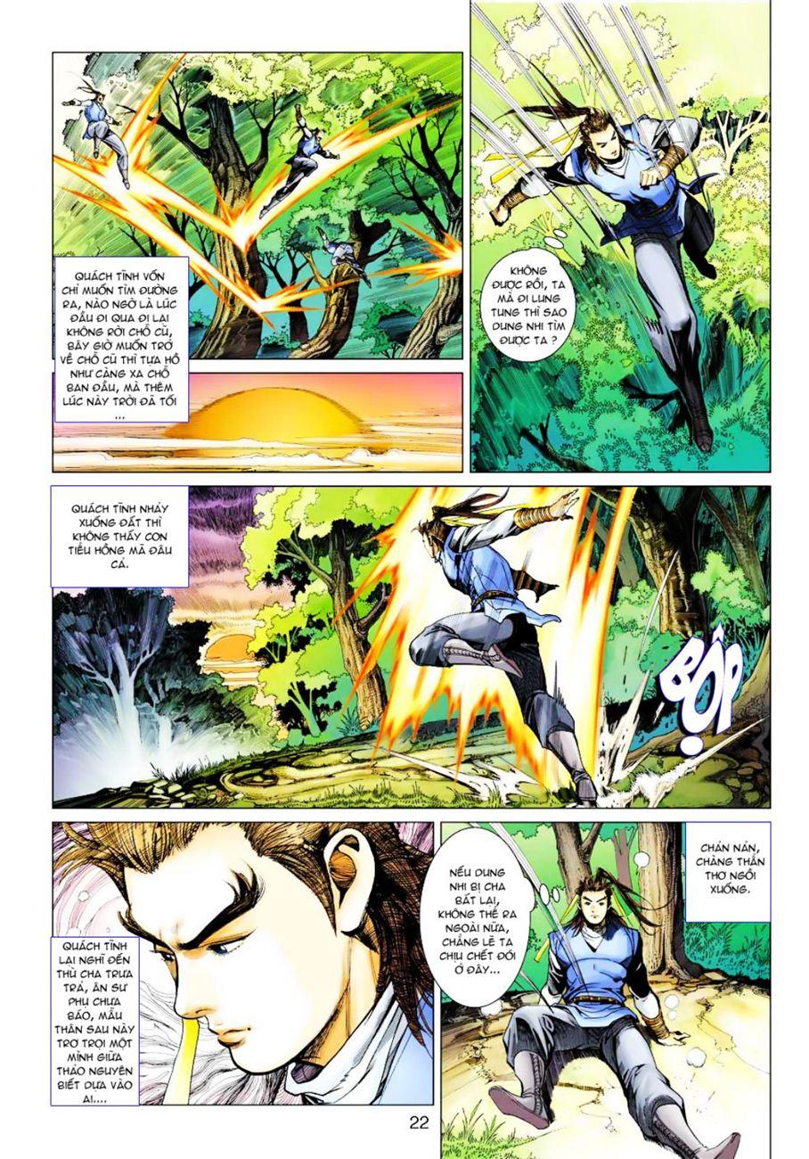 Anh Hùng Xạ Điêu anh hùng xạ đêu chap 39 trang 22