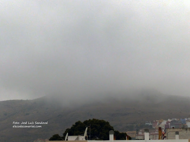 Se esperan lluvias hoy 20 de julio Canarias