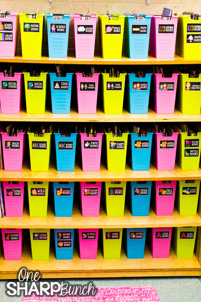 Classroom Library Organization Made Easy We Love How This Teacher Organized Her By